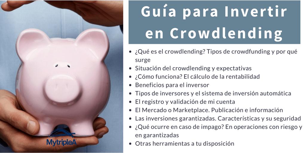 Contenido guía invertir crowdlending