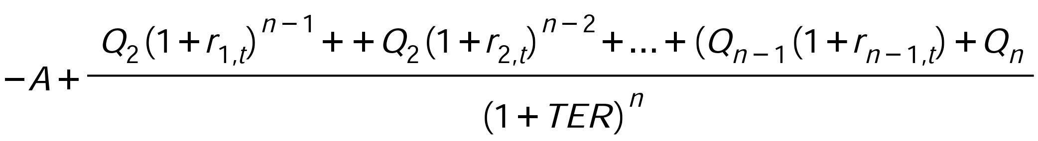 formula Rentabilidad efectiva