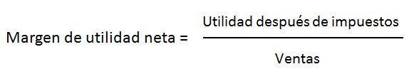 formula 3 rentabilidad sobre ventas