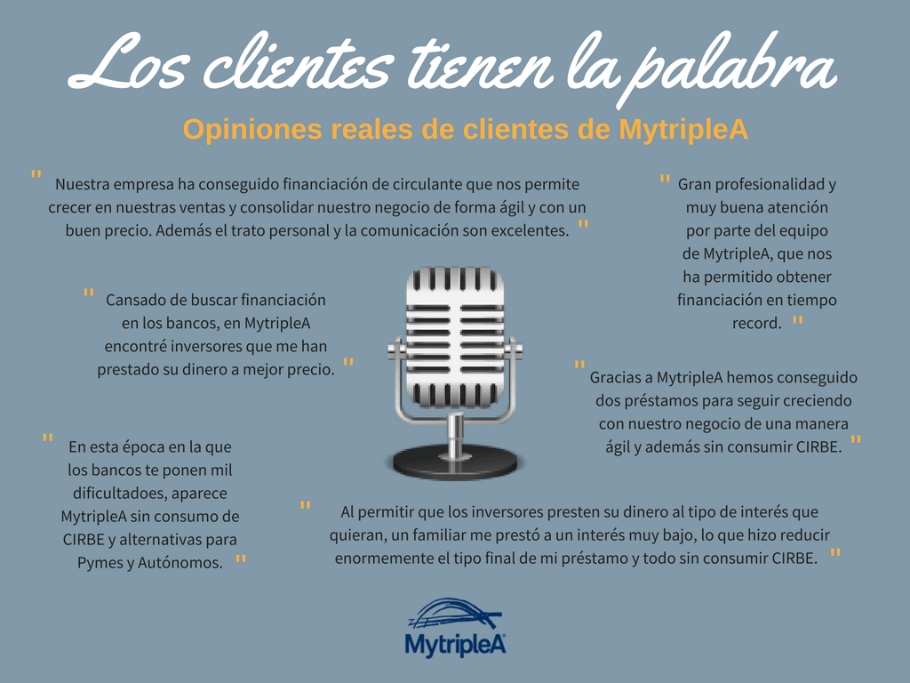 Opiniones MytripleA
