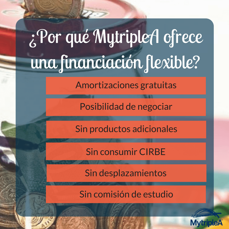 Financiación flexible MytripleA
